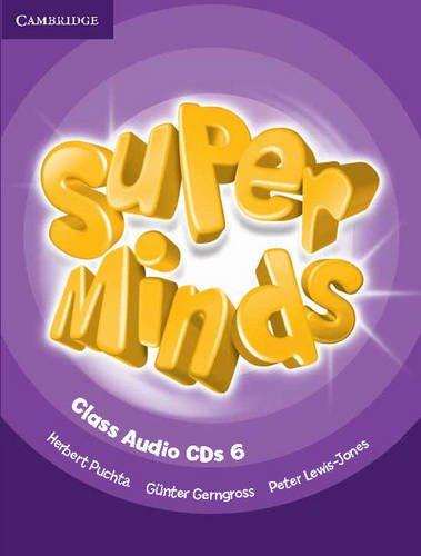 9780521215879: Super Minds Level 6 Class CDs (4)
