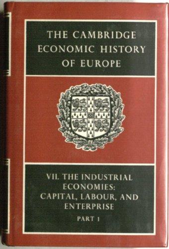 9780521215909: The Cambridge Economic History of Europe: Part 1