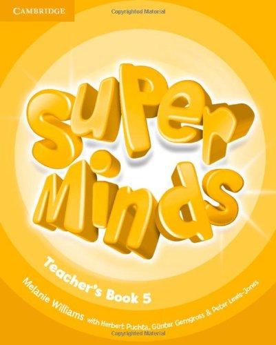 9780521216166: Super Minds Level 5 Teacher's Book