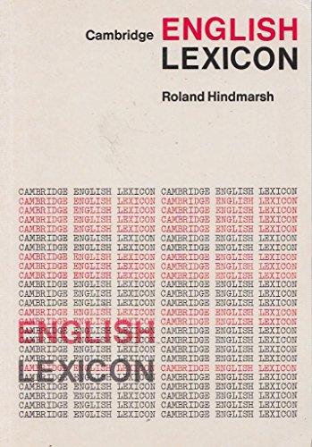 9780521216234: Cambridge English Lexicon (Cambridge English language learning)