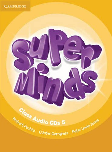 9780521216241: Super Minds Level 5 Class CDs (4)