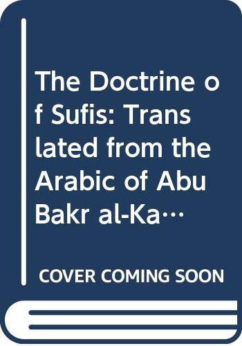 9780521216470: The Doctrine of Sufis: Translated from the Arabic of Abu Bakr al-Kalabadhi