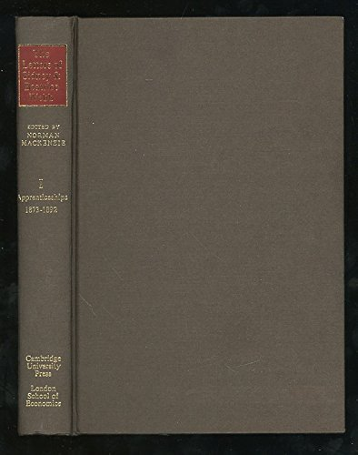9780521216814: The Letters of Sidney and Beatrice Webb: Volume 1, Apprenticeships 1873-1892 (v. 1)