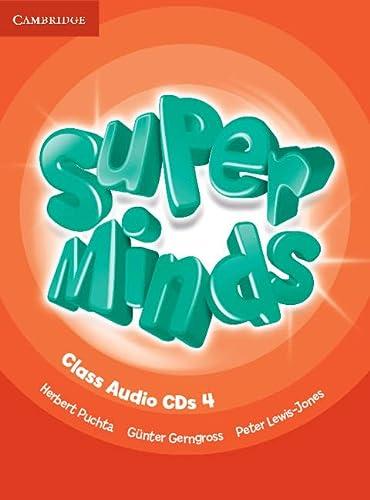 9780521217514: Super Minds Level 4 Class Audio CDs (4)