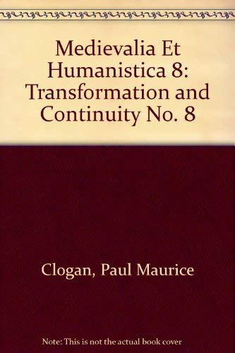 Medievalia et humanistica. Studies in Medieval and Renaissance Culture. New Series, Number 8. 1977.