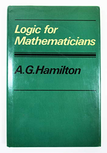 9780521218382: Logic for Mathematicians
