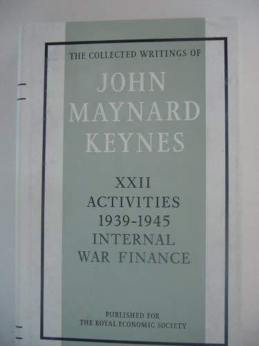 9780521218764: 022: The Collected Writings of John Maynard Keynes (Volume 22)