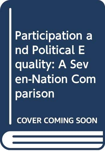 9780521219051: Participation and Political Equality: A Seven-Nation Comparison