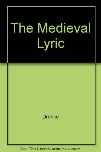 9780521219440: The Medieval Lyric
