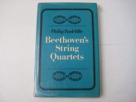 9780521219631: Beethoven's String Quartets