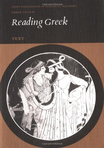 9780521219761: Reading Greek: Text: Text Pt. 1