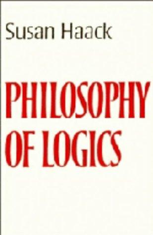 9780521219884: Philosophy of Logics