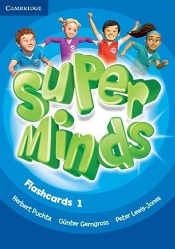9780521220262: Super Minds Level 1 Flashcards (Pack of 103)