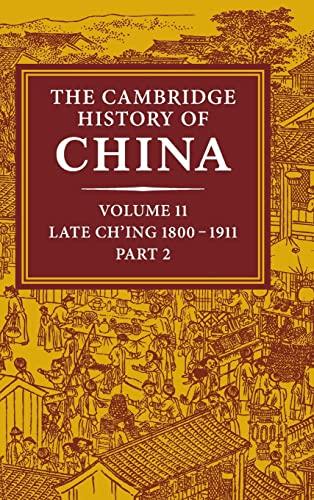 The Cambridge History of China, Vol. 11: Fairbank, John K.