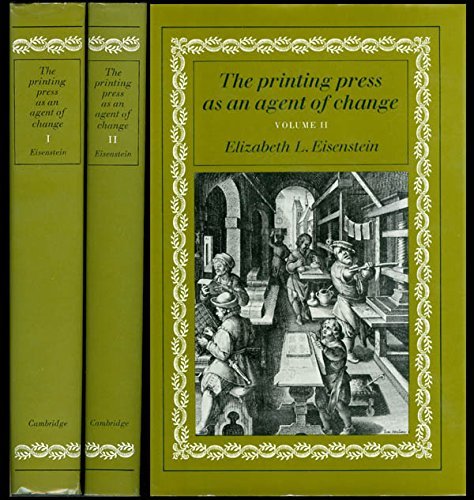 9780521220446: The Printing Press as an Agent of Change [Two Volumes]