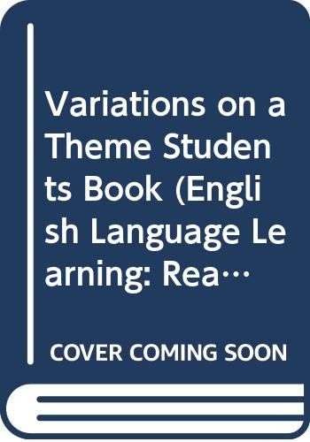 Variations on a Theme Students Book (English: Maley, Alan, Duff,