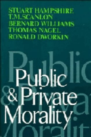 9780521220842: Public and Private Morality
