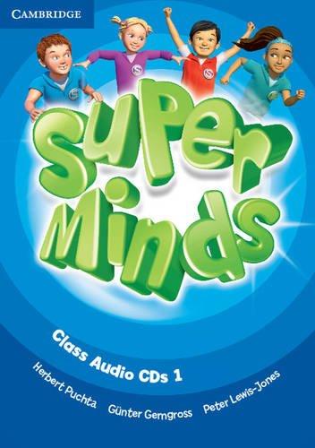 9780521221368: Super Minds Level 1 Class Audio CDs (3)
