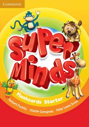 9780521221634: Super Minds Starter Flashcards (Pack of 78)