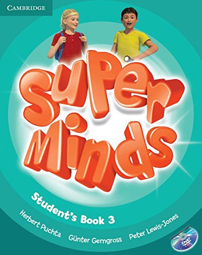 9780521221689: Super Minds Level 3 Student's Book with DVD-ROM