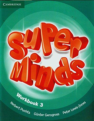 9780521221696: Super minds. Workbook. Per la Scuola elementare. Con espansione online (Vol. 3)