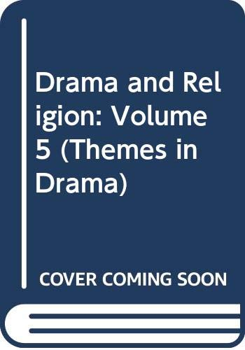9780521221825: Drama and Religion: Volume 5 (Themes in Drama)
