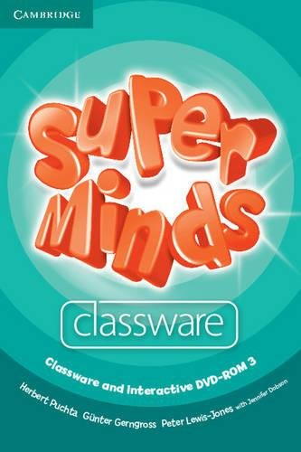 9780521221849: Super Minds Level 3 Classware and Interactive DVD-ROM