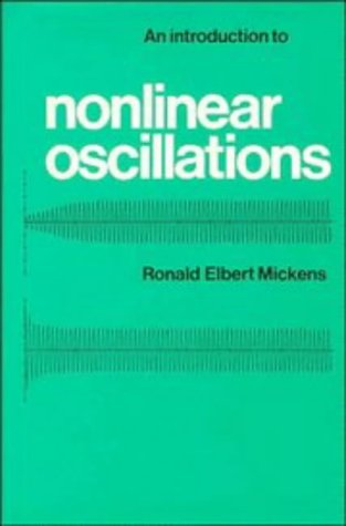 9780521222082: Introduction to Nonlinear Oscillations