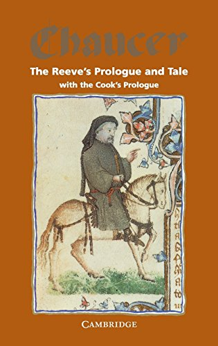 9780521222112: The Reeve's Prologue and Tale with the Cook's Prologue and the Fragment of his Tale (Selected Tales from Chaucer)