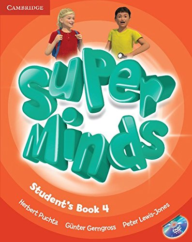 9780521222181: Super Minds Level 4 Student's Book with DVD-ROM