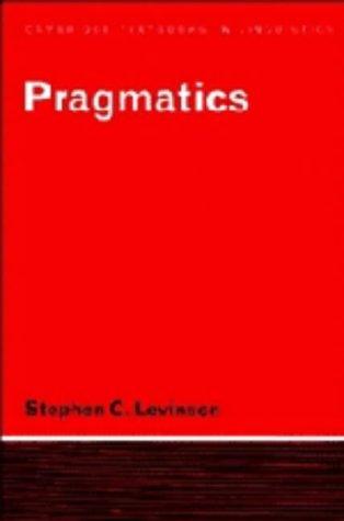 9780521222358: Pragmatics (Cambridge Textbooks in Linguistics)