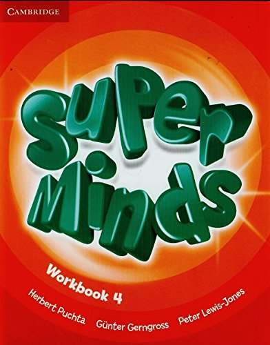 9780521222389: Super minds. Workbook. Con espansione online. Per la Scuola elementare: Super Minds  4 Workbook