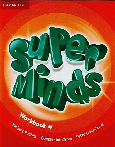 9780521222389: Super minds. Workbook. Con espansione online. Per la Scuola elementare: 4
