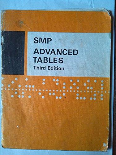 9780521222563: Advanced Tables (School Mathematics Project Tables)