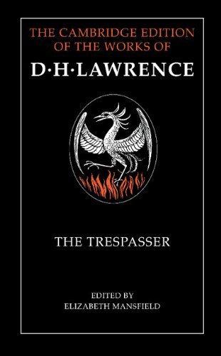 9780521222648: The Trespasser (The Cambridge Edition of the Works of D. H. Lawrence)