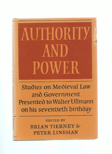 9780521222754: Authority and Power