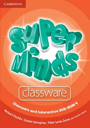 9780521223089: Super Minds Level 4 Classware and Interactive DVD-ROM