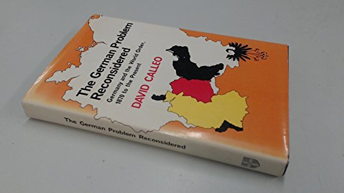 9780521223096: The German Problem Reconsidered:Germany and the World Order 1870 to the Present