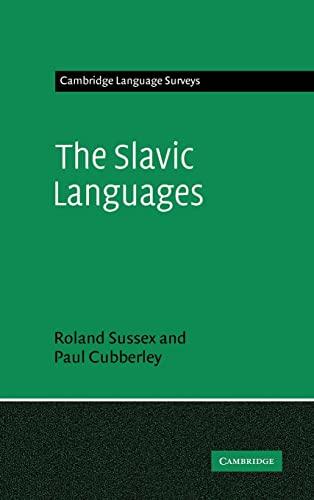 9780521223157: The Slavic Languages (Cambridge Language Surveys)