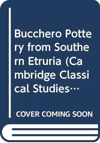 9780521223164: Bucchero Pottery from Southern Etruria