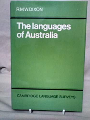 The Languages of Australia: Dixon, Robert M. W.