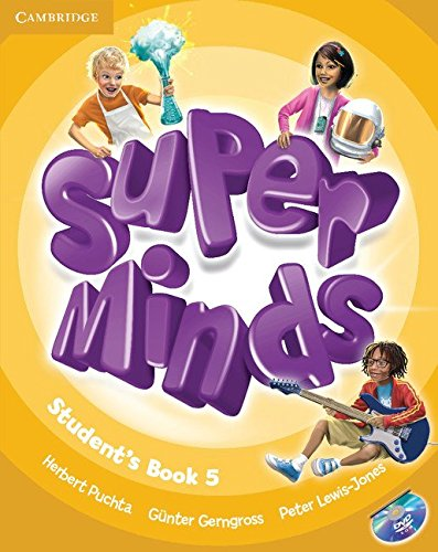 9780521223355: Super Minds Level 5 Student's Book with DVD-ROM