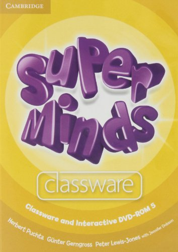9780521223768: Super Minds Level 5 Classware and Interactive DVD-ROM