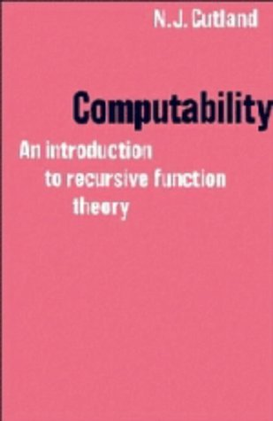 9780521223843: Computability: An Introduction to Recursive Function Theory