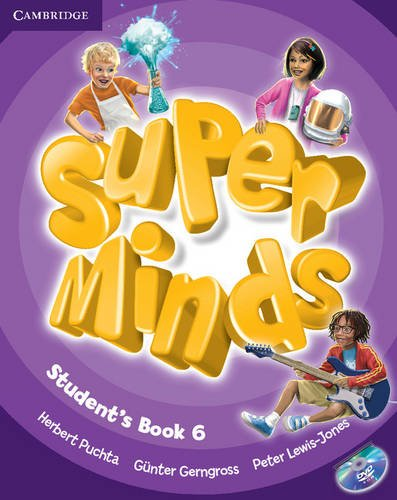 9780521223874: Super Minds Level 6 Student's Book with DVD-ROM (Book & DVD Rom) - 9780521223874