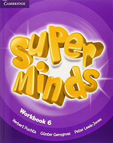 9780521223980: Super Minds Level 6 Workbook