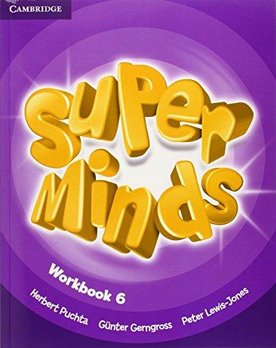 9780521223980: Super Minds Level 6 Workbook