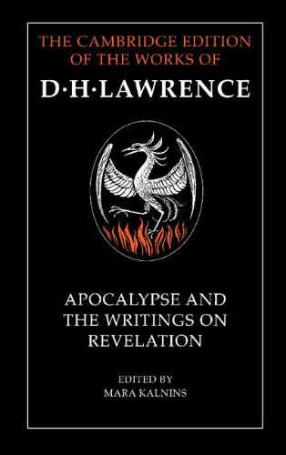 Apocalypse and the Writings on Revelation (The Cambridge Edition of the Works of D. H. Lawrence) (0521224071) by D. H. Lawrence