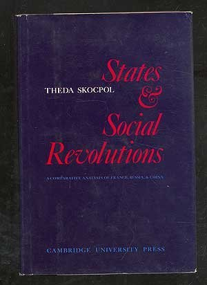 9780521224390: States and Social Revolutions: A Comparative Analysis of France, Russia and China