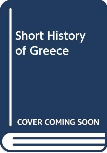 9780521224796: Short History of Greece
